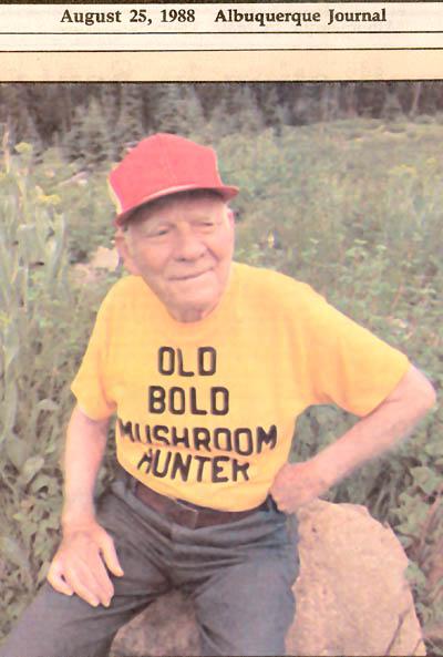 old bold mushroom pickers
